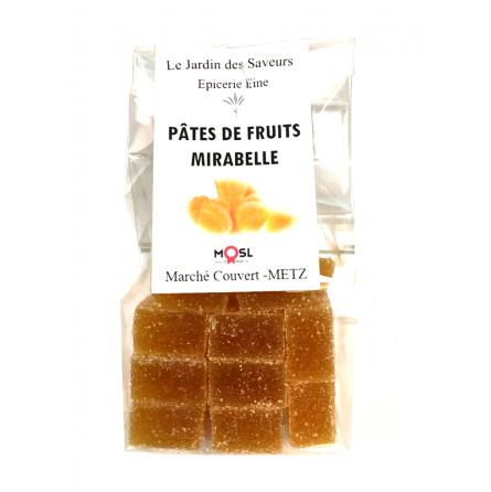 Pâtes de Fruits à la Mirabelle