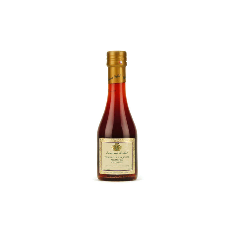 Vinaigre de Vin Rouge Aromatisé au Cassis
