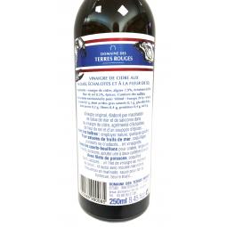 Vinaigre de Cidre aux Algues, Echalottes et Fleur de Sel