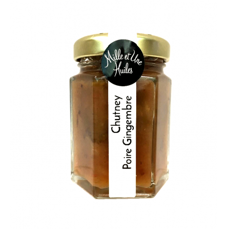 Chutney Poire Gingembre