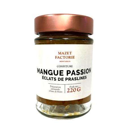 Confiture Mangue Passion Praslines Broyées