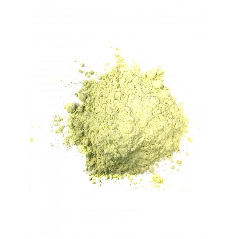 Moutarde verte en poudre