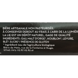 Bière de Metz Blanche