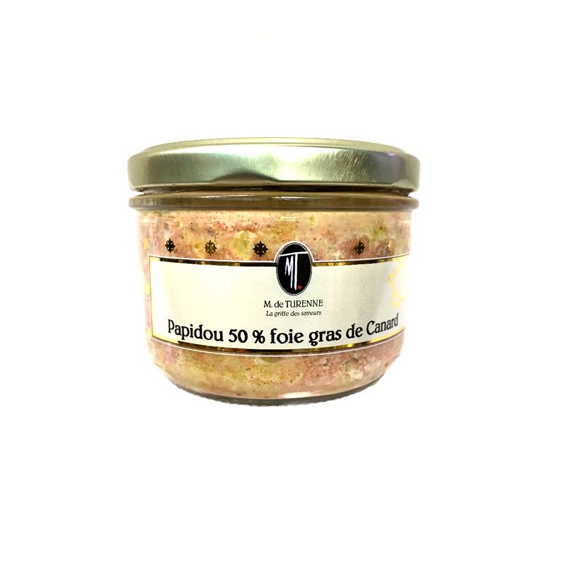 Papidou 50% Foie Gras de Canard