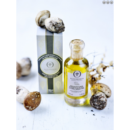 Spécialité à base d'Huile d'Olive 90% au cèpe aromatisée