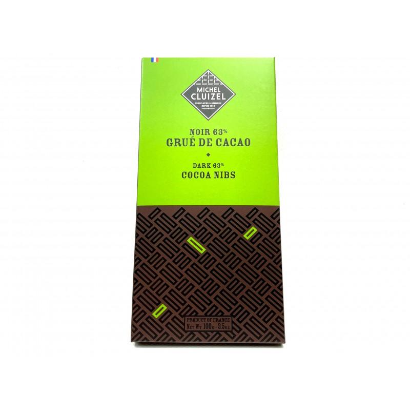 Grué de cacao Noir 63%