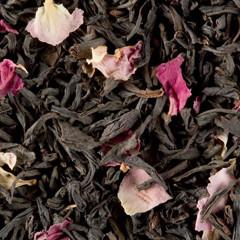 Thé noir - Rose