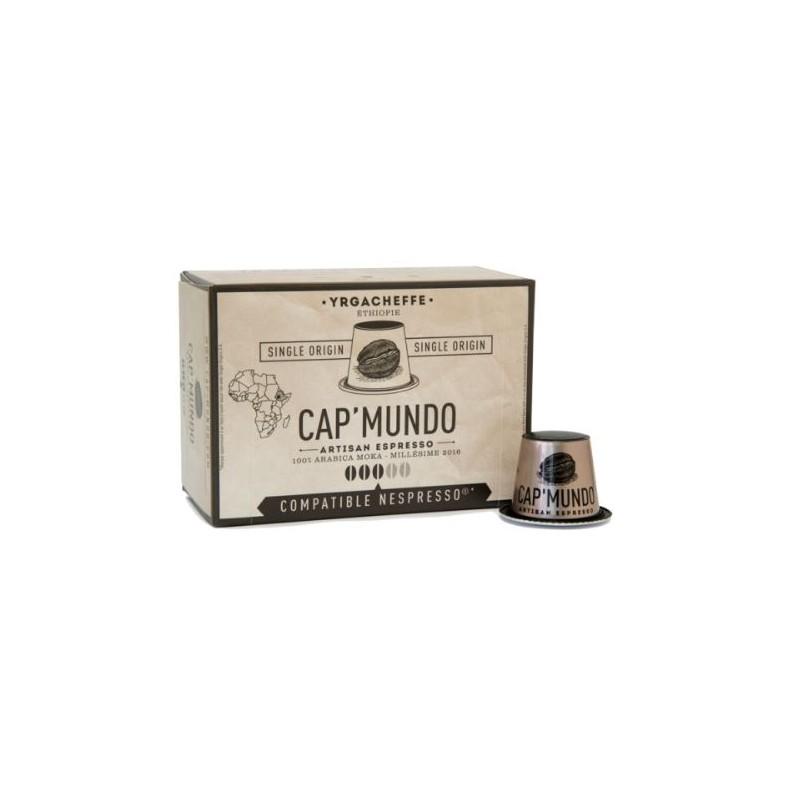 Boite de 10  Capsules - Cap'Mundo - YRGACHEEF