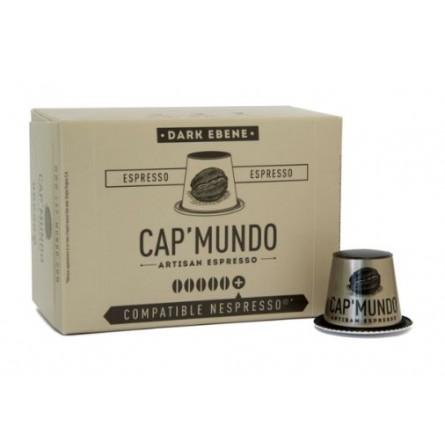 Boite de 10  Capsules - Cap'Mundo - DARK EBENE