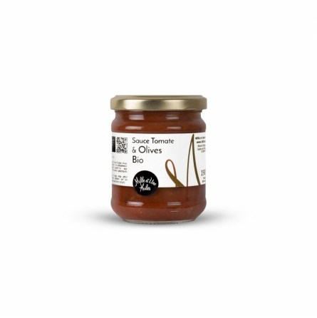 Sauce Tomate aux Olives Bio