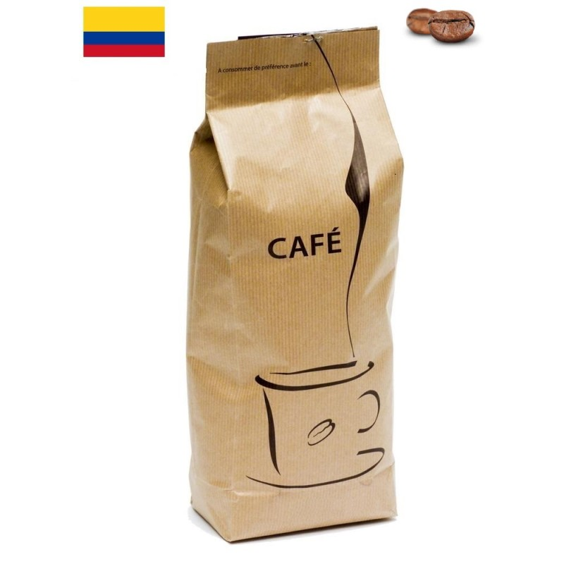 Paquet de Café de Colombie Décaféiné