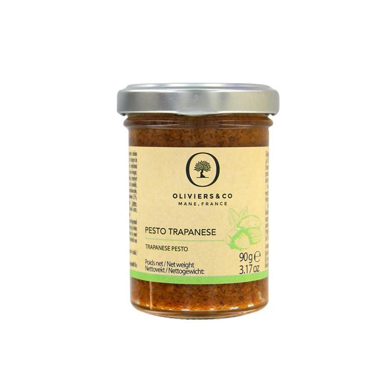 Pesto Trapanese - Basilic et Amande