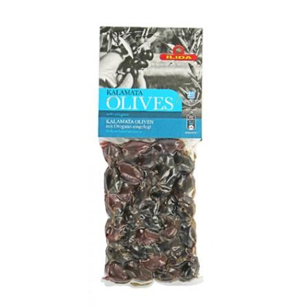 Olives Noires Kalamanta à l'Origan
