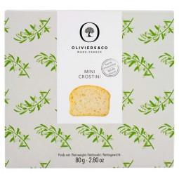 Mini Crostini à l'Huile d'Olive 8%