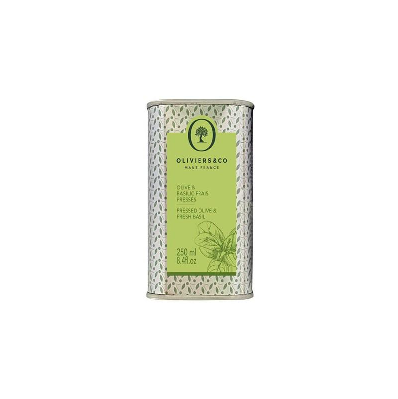 Olive et Basilic Frais Pressé