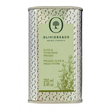 Olives et Thyn Frais Pressés