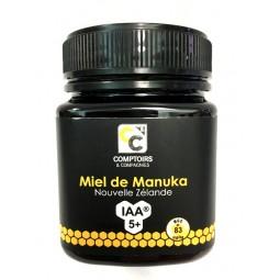 Miel de Manuka IAA5+ de Nouvelle Zelande