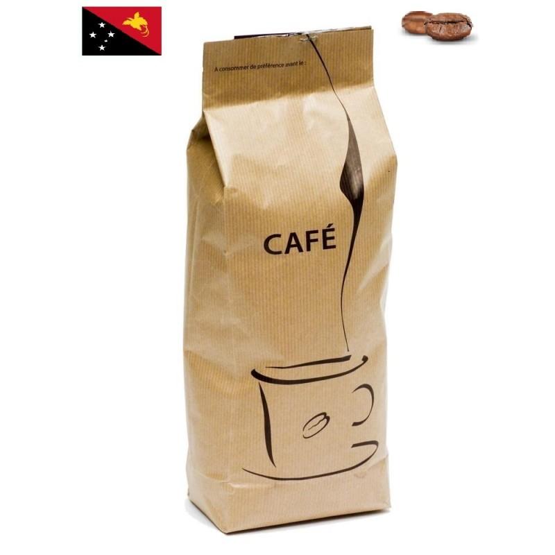 Paquet de Café Sigri Nouvelle Guinée