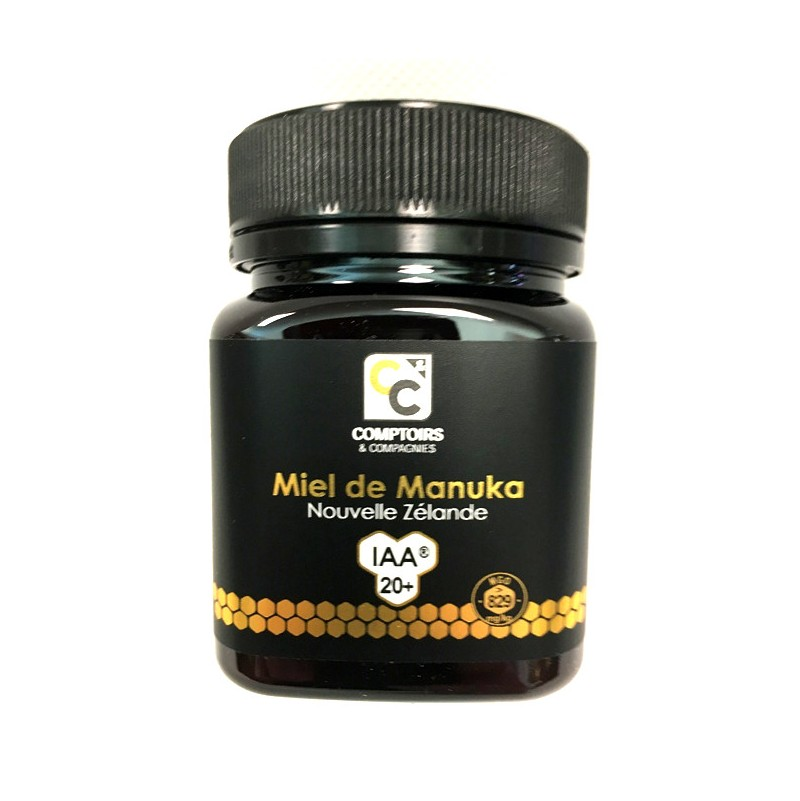 Miel de Manuka IAA20+ de Nouvelle Zelande