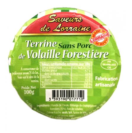 Terrine de Volaille Forestière