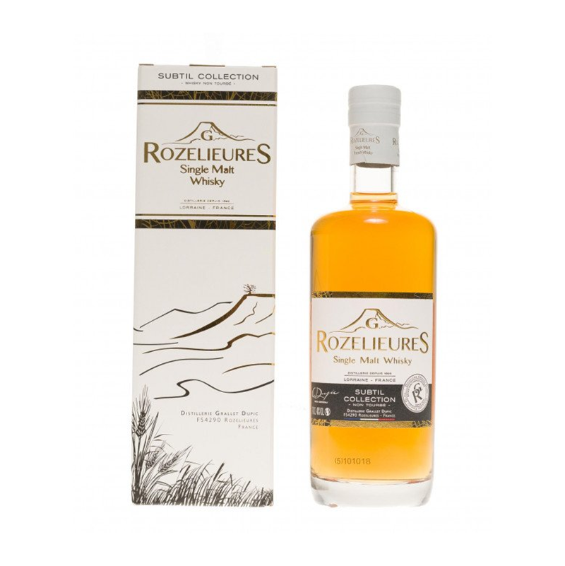 "Whisky single malt ""Subtil Collection"" G.Rozelieures"