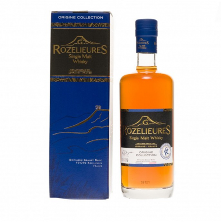 "Whisky ""Origine Collection"" G.Rozelieures"