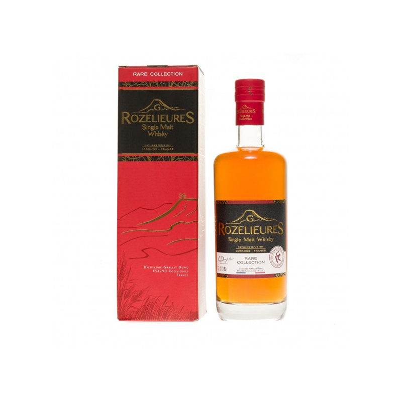 "Whisky single malt ""Rare Collection"" G.Rozelieures"