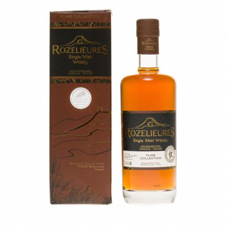 """Whisky single malt """"Fume collection"""" G. Rozelieures"""