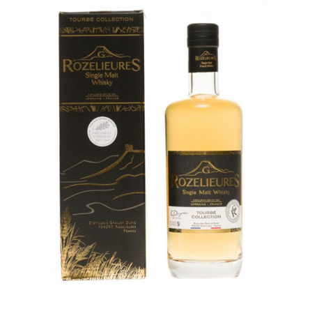 "Whisky single malt ""Tourbé collection"" G. Rozelieures"